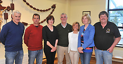 Organising committee of the summer season of Comhaltas Seisi&uacute;ns at the Fr. Peyton Centre Attymass, from left John Lawlor, John Murray, Catherine Robinson Seamus Cawley, Teresa Gillispie, Maureeen and Jimmy O'Donnell.<br /> Pic Conor McKeown