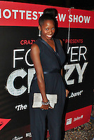 LONDON - November 01: Jamelia at the Forever Crazy Press Night (Photo by Brett D. Cove)