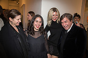 CARINE LEE; ELEANOR CONDO; ANASTASIA LENGLET; GEORGE CONDO, George Condo - private view . Simon Lee Gallery, 12 Berkeley Street, London, 10 February 2014