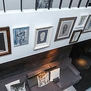 NLD/Laren/20150501 - Presentatie Artwork Mart Visser in de orangerie van Wolterinck Studio & Store, schilderijen van Mart Visser