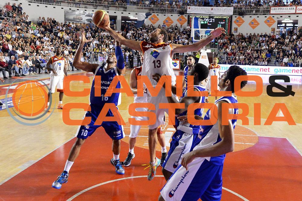 DESCRIZIONE : Roma Lega A 2012-2013 Acea Roma Lenovo Cantu playoff semifinale gara 5<br /> GIOCATORE : Luigi Datome<br /> CATEGORIA : Rimbalzo Sequenza<br /> SQUADRA : Acea Roma<br /> EVENTO : Campionato Lega A 2012-2013 playoff semifinale gara 5<br /> GARA : Acea Roma Lenovo Cantu<br /> DATA : 02/06/2013<br /> SPORT : Pallacanestro <br /> AUTORE : Agenzia Ciamillo-Castoria/GiulioCiamillo<br /> Galleria : Lega Basket A 2012-2013  <br /> Fotonotizia : Roma Lega A 2012-2013 Acea Roma Lenovo Cantu playoff semifinale gara 5<br /> Predefinita :