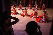 Shrimati Pragya Dasgupta's dancers perform during the ICC Youthsava 2016 Dance Competition at the India Community Center in Milpitas, California, on April 9, 2016. (Stan Olszewski/SOSKIphoto)