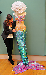 Katy Perry mermaid costume.  Est:£2,000-3,000. Christie's London Pop Culture photocall.  Collection of important memorabilia from the past century to auction on November 29 at Christie's London. Christie's London, United Kingdom, November 23, 2012. Photo by Nils Jorgensen / i-Images.