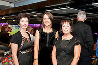 Galway Bay Golf Club Choir members Christine Mulryan, Therese O'Sullivan and Alice Murphy  at the Radisson Blu Hotel for Galway 1st ever Choir Factor in aid of Kilcuan Retreat and Healing Centre in Clarinbridge, Co. Galway . The event organised by the Corrib Lions Club was won by the Marine Institute Choir directed by Carmel Dooley. Picture:Andrew Downes