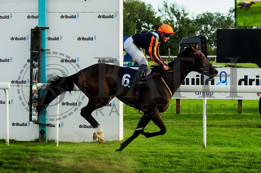 Perfect Grace ridden by Pierre-Louis Jamin and trained by Archie Watson in the Visit Four From The Top At Valuerater.Co.Uk Apprentice Handicap race.  - Ryan Hiscott/JMP - 15/09/2019 - PR - Bath Racecourse - Bath, England - Race Meeting at Bath Racecourse