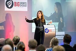 Karren Brady CBE is the guest speaker as Bristol Sport hosts their monthly networking breakfast event at Ashton Gate Stadium - Rogan Thomson/JMP - 25/11/2016 - SPORT - Ashton Gate Stadium - Bristol, England - Big Sports Breakfast 2016.