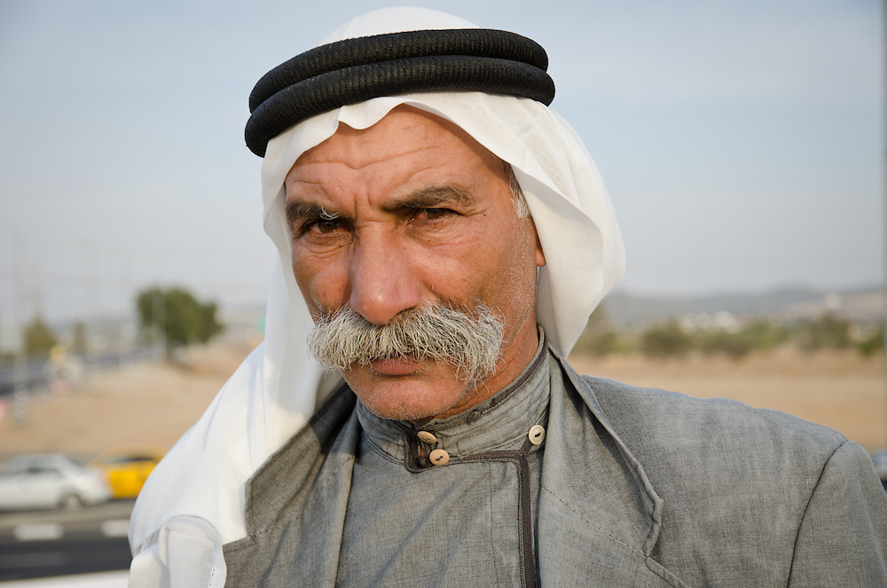 Saya Ar-Raqib, sheikh of the Bedouin village of Ar-Raqib, struggles for the rights of his community to return to and rebuild on their land. The entire village was demolished by the Israeli government on July 27, 2010 - 67 houses destroyed, 563 people left homeless, some 4500 olive trees uprooted. After that, bulldozers returned every week to demolish any attempts at rebuilding.