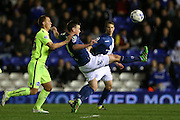 Birmingham City midfielder Stephen Gleeson (8) during the Sky Bet Championship match between Birmingham City and Brighton and Hove Albion at St Andrews, Birmingham, England on 5 April 2016.