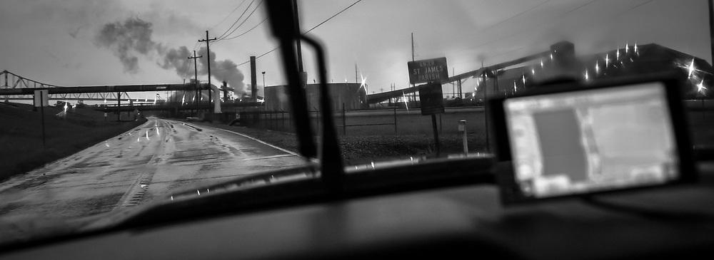 The Noranda Alumina plant found to emitt Mercury into the air in Gramercy Louisana.