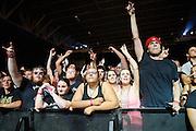 Atmosphere from Mayhem Fest 2012 at Verizon Wireless Amphitheater in St. Louis on July 20, 2012.