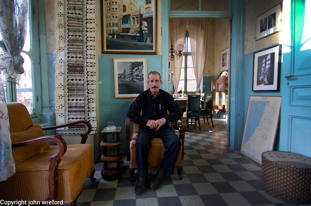 Abu Jaffa Palestinian guardian of the Dukes Divan Amman Jordan