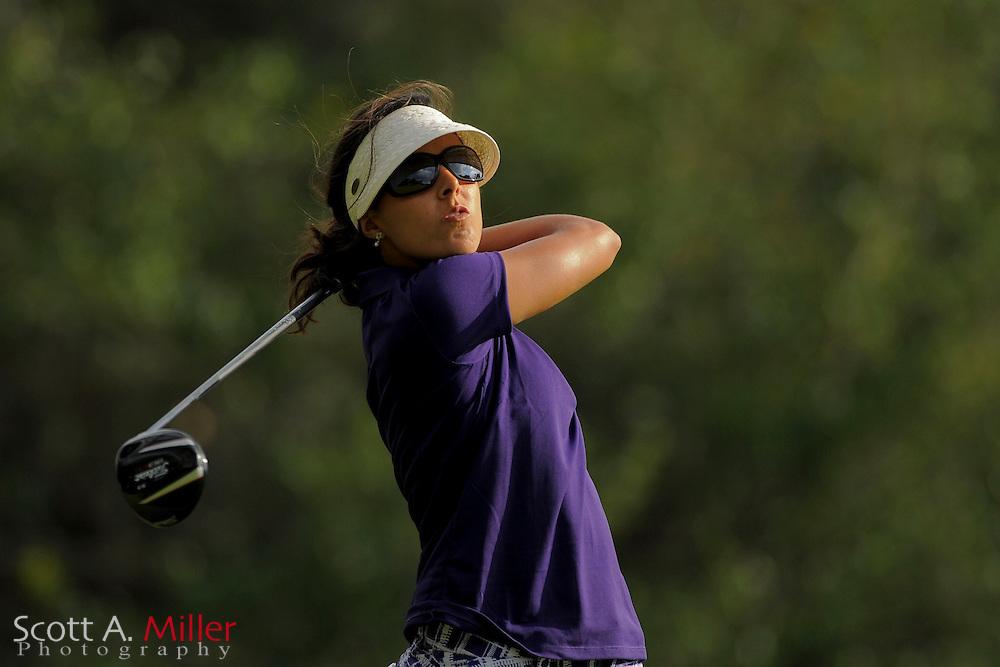 Martina Gavier during second round of the Symetra Tour's Guardian Retirement Championship at Sara Bay in Sarasota, Florida April 27, 2013. ..©2013 Scott A. Miller