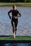 Rebekah Keat (AUS). 2012 Ironman Shepparton 70.3 Triathlon. Shepparton, Victoria, Australia. 18/11/2012. Photo By Lucas Wroe