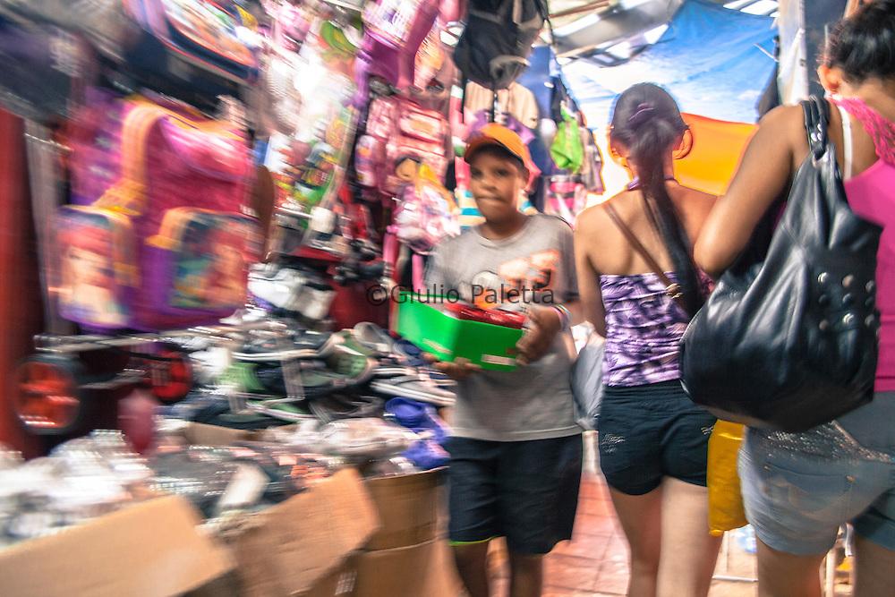 Commerce in Ciudad del Este, Paraguay