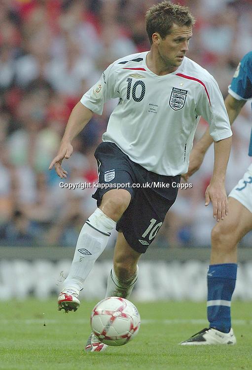 Michael Owen, England-Israel, Euro 2008, Wembley 8/9/2007