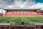 City Ground Stadium during the The FA Cup fourth round match between Nottingham Forest and Watford at the City Ground, Nottingham, England on 30 January 2016. Photo by Simon Davies.