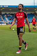 Rotherham United defender Michael Ihiekwe (20) after warm up session  before the EFL Sky Bet League 1 match between Gillingham and Rotherham United at the MEMS Priestfield Stadium, Gillingham, England on 17 April 2018. Picture by Martin Cole.