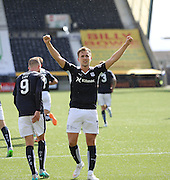 Greg Stewart celebrates the fourth goal  - Kilmarnock v Dundee - Ladbrokes Scottish Premiership at Rugby Park<br /> <br />  - &copy; David Young - www.davidyoungphoto.co.uk - email: davidyoungphoto@gmail.com