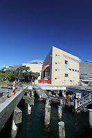 Te Papa National Museum at Lambton Harbour.
