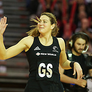Irene Van Dyk, New Zealand, is welcomed onto the court for her 200th test match during the New Zealand V England, New World International Netball Series, at the ILT Velodrome, Invercargill, New Zealand. 6th October 2011. Photo Tim Clayton...