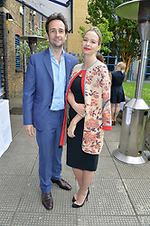 MATT & MARISSA HERMER at an Evening at The River Cafe in aid of the NSPCC held at The River Cafe, Thames Wharf, Rainville Road, London on 19th June 2016