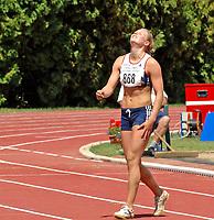 Friidrett<br /> EM U23 Debrechen<br /> 15.07.2007<br /> Foto: Hasse Sjøgren, Digitalsport<br /> NORWAY ONLY<br /> <br /> Ida Marcussen<br /> Sjukamp