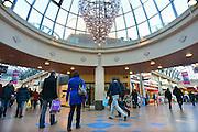 Nederland, Veendendaal, 2-2-2013Winkelcentrum passage de Corridor, een groot overdekt winkelgebied.Foto: Flip Franssen
