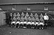 Irish Rugby Football Union, Ireland v Wales, Five Nations, Landsdowne Road, Dublin, Ireland, Saturday 17th November, 1962,.17.11.1962, 11.17.1962,..Referee- J A E Taylor, Scottish Rugby Union, ..Score- Ireland 3 - 3 Wales, ..Irish Team, ..T J Kiernan,  Wearing number 15 Irish jersey, Full Back, University college Cork Football Club, Cork, Ireland,  ..W R Hunter, Wearing number 14 Irish jersey, Right Wing, C I Y M S Rugby Football Club, Belfast, Northern Ireland, ..A C Pedlow, Wearing number 13 Irish jersey, Right Centre,  C I Y M S Rugby Football Club, Belfast, Northern Ireland, ..M K Flynn, Wearing number 12 Irish jersey, Left Centre, Wanderers Rugby Football Club, Dublin, Ireland, ..N H Brophy, Wearing number 11 Irish jersey, Left wing, London Irish Rugby Football Club, Surrey, England, ..M A English, Wearing number 10 Irish jersey, Stand Off, Landsdowne Rugby Football Club, Dublin, Ireland, ..J C Kelly, Wearing number 9 Irish jersey, Scrum Half, University College Dublin Rugby Football Club, Dublin, Ireland, ..M P O'Callaghan, Wearing number 1 Irish jersey, Forward, Sundays Well Rugby Football Club, Cork, Ireland, ..A R Dawson, Wearing number 2 Irish jersey, Forward, Wanderers Rugby Football Club, Dublin, Ireland, ..P J Dwyer, Wearing number 3 Irish jersey, Forward, University College Dublin Rugby Football Club, Dublin, Ireland, ..W J McBride, Wearing number 4 Irish jersey, Forward, Ballymena Rugby Football Club, Antrim, Northern Ireland,..W A Mulcahy, Wearing number 5 Irish jersey, Captain of the Irish team, Forward, Bective Rangers Rugby Football Club, Dublin, Ireland,  ..P J A O'Sullivan, Wearing  Number 6 Irish jersey, Forward, Galwegians Rugby Football Club, Galway, Ireland, ..C J Dick, Wearing number 8 Irish jersey, Forward, Ballymena Rugby Football Club, Antrim, Northern Ireland, ..M D Kiely, Wearing number 7 Irish jersey, Forward, Landsdowne Rugby Football Club, Dublin, Ireland,