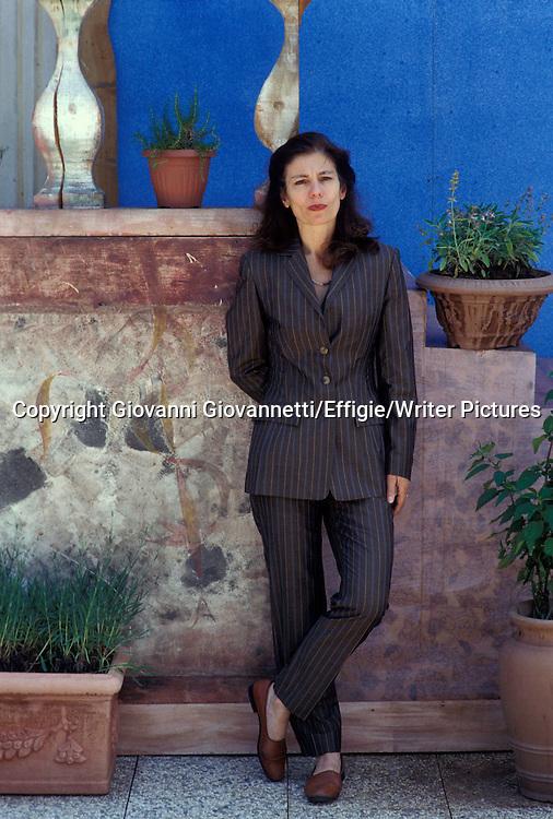 Ursula Krechel (b.1947), German writer. <br /> <br /> Copyright Giovanni Giovannetti/Effigie/Writer Pictures<br /> NO ITALY, NO AGENCY SALES