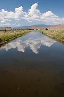 First major Rio Grande irrigation canal at Del Norte, Colorado