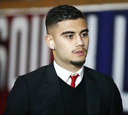 February 27, 2019 - London, England, United Kingdom - Manchester United's Andreas Pereira.during English Premier League between Crystal Palace and Manchester  United at Selhurst Park stadium , London, England on 27 Feb 2019. (Credit Image: © Action Foto Sport/NurPhoto via ZUMA Press)
