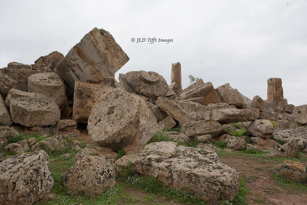 Selinunte : temple ruins