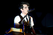 Panic! at the Disco performing at the Lifestyles Community Pavilion in Columbus, OH on June 9, 2011