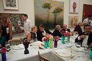 MARIELA FROSTRUP; SIR JOHN MADEJSKI;, Annual Dinner. Royal Academy of Arts. Piccadilly. London. 8 June 2010. -DO NOT ARCHIVE-© Copyright Photograph by Dafydd Jones. 248 Clapham Rd. London SW9 0PZ. Tel 0207 820 0771. www.dafjones.com.