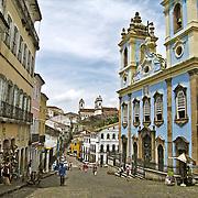 The Pelourinho, Salvador, Brazil. Photo by Jen Klewitz