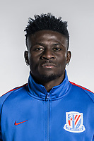 **EXCLUSIVE**Portrait of Nigerian soccer player Obafemi Martins of Shanghai Greenland Shenhua F.C. for the 2018 Chinese Football Association Super League, in Shanghai, China, 2 February 2018.