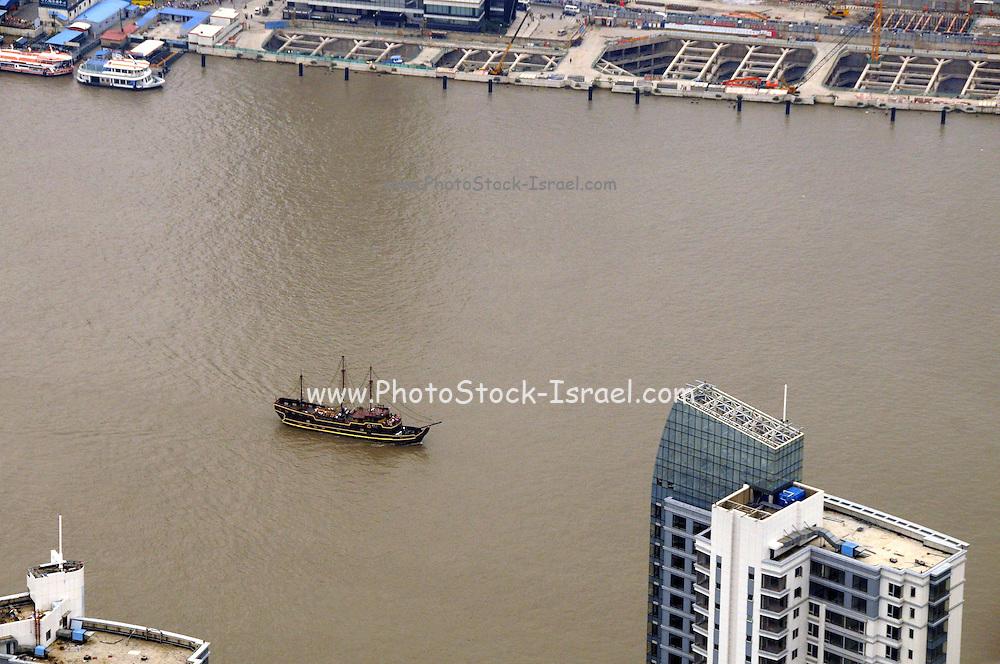 China, Shanghai the Yangtze River,