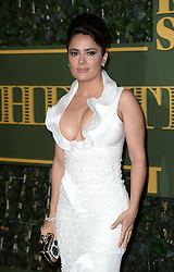 Salma Hayek attending the London Evening Standard Theatre Awards held at the Old Vic Theatre, London on 22nd November, 2015.<br />