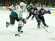 LOS ANGELES, CA - JANUARY 23:   of the Los Angeles Kings  against the Anaheim Mighty Ducks on January 23, 2006 at the Staples Center in Los Angeles, California.  (Photo by Jeffrey Bottari/Bernstein Associates/Getty Images)