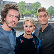 NLD/Amsterdam/20190520 - inloop Best of Broadway, Dorian Bindels, Melissa Drost en Ferry Doedens