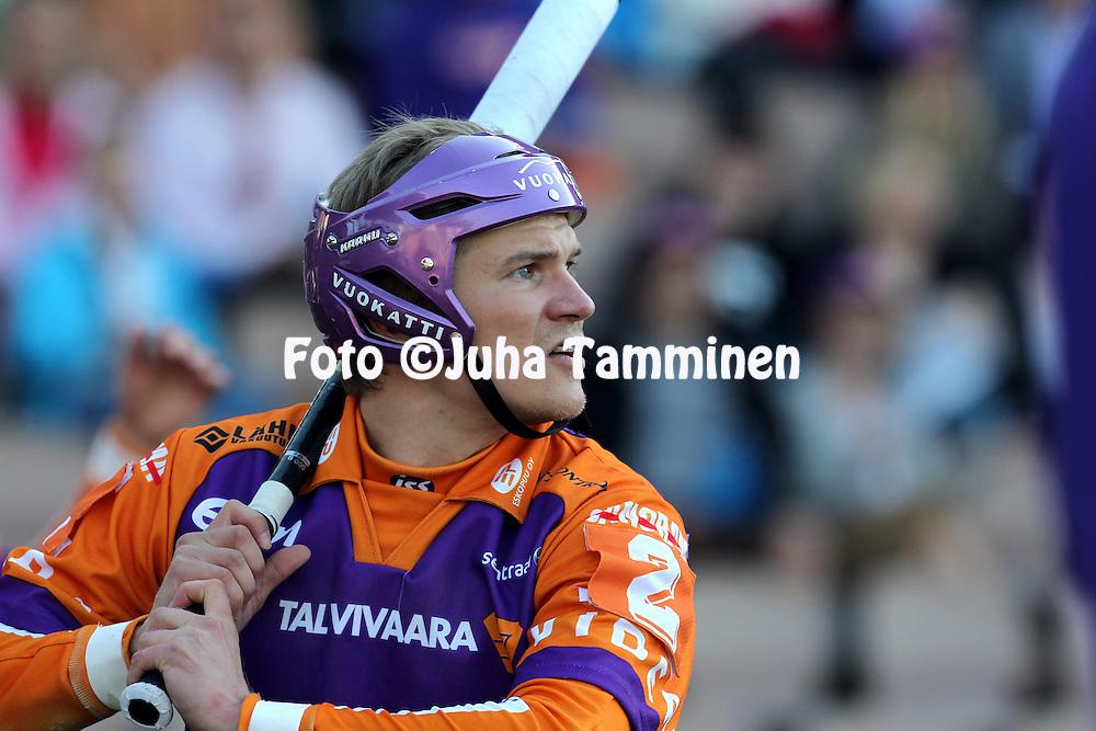 8.6.2012, Sonera Stadion, Helsinki..Superpesis 2012, Sotkamon Jymy - Kouvolan Pallonly?j?t..Antti Hartikainen - Jymy