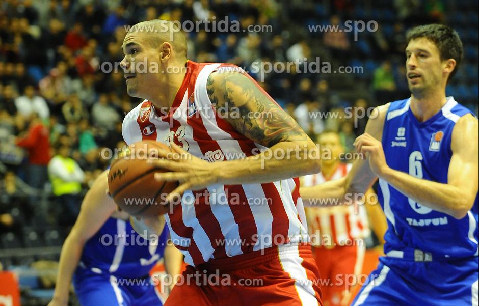 CRVENA ZVEZDA vs TAJFUN<br /> Beograd, 08.10.2015.<br /> foto: Nebojsa Parausic<br /> <br /> Kosarka, Crvena zvezda, Tajfun, Jadranska ABA liga, XYZ