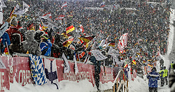 28.12.2014, Schattenbergschanze, Oberstdorf, GER, FIS Ski Sprung Weltcup, 63. Vierschanzentournee, Bewerb, im Bild Fans // during Competition of 63 rd Four Hills Tournament of FIS Ski Jumping World Cup at Schattenbergschanze, Oberstdorf, GER on 2014/12/28. EXPA Pictures © 2014, PhotoCredit: EXPA/ Peter Rinderer
