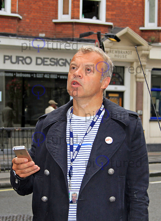 Celebrity sightings in London, 20 September 2014, Photo by Mike Webster