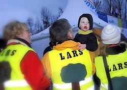 07-01-2007 WIELRENNEN: NK VELDRIJDEN MANNEN: WOERDEN<br /> Support , toeschouwers voor Lars Boom<br /> ©2007-WWW.FOTOHOOGENDOORN.NL