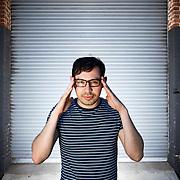 Portrait, Ramy Mourad. Hollywood, CA.