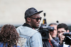 October 22, 2017 - Austin, Texas, U.S - Usain Bolt in action during the Formula 1 United States Grand Prix race at the Circuit of the Americas race track in Austin,Texas. (Credit Image: © Dan Wozniak via ZUMA Wire)