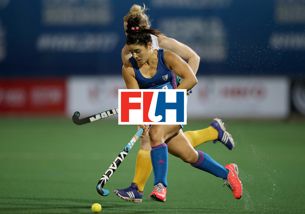 JOHANNESBURG, SOUTH AFRICA - JULY 12: Maria Granatto of Argentina in action during day 3 of the FIH Hockey World League Semi Finals Pool B match between South Africa and Argentina at Wits University on July 12, 2017 in Johannesburg, South Africa. (Photo by Jan Kruger/Getty Images for FIH)