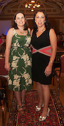 Orla Keogh, Kinvara and Tina Meyler, Kinvara at A Vintage and Pre-Loved Fashion Extravaganza held in the Lady Gregory Hotel in Gort . A fundraising event organised by the Parents Council for Seamount's new pitch.  Photo:Andrew Downes