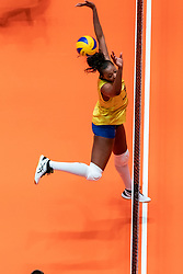 29-05-2019 NED: Volleyball Nations League Poland - Brazil, Apeldoorn<br /> Tainara Lemes Santos #11 of Brazil